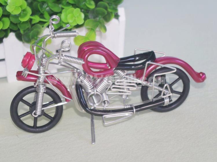 Creative Handwork Metal Decorative Harley Motorcycle/Brass Crafts
