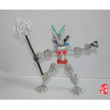 Wholesale - Creative Handwork Metal Decorative Robot with Arrow/Brass Crafts