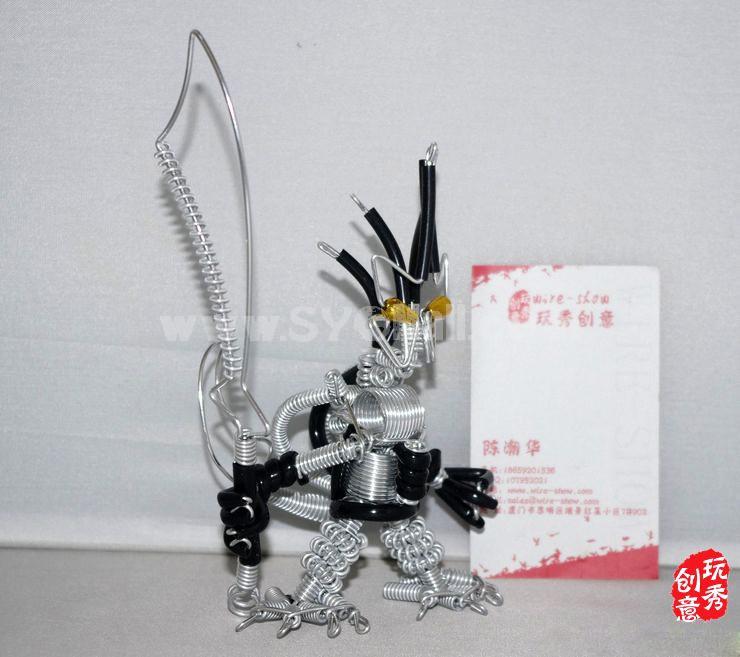 Creative Handwork Metal Decorative Short Pattern Robot/Brass Crafts
