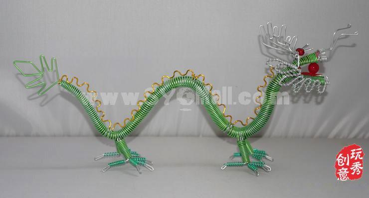 Creative Handwork Metal Decorative Dragon Pattern/Brass Crafts