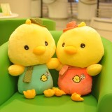 Wholesale - Soft Lover Chicken Plush Toys Stuffed Animals 2Pcs Set 35cm/14Inch