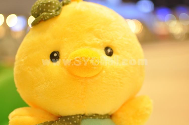 "35*30CM/14*12"" Cute Soft Couple Chicken Style Plush Toys A Pair/2PCs"