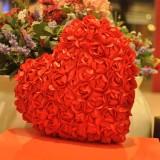 "Wholesale - Soft Rose Heart Plush Toy 36*30CM/14*12"""