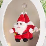 "Wholesale - Soft Christmas Santa Claus Plush Toy 20CM/7.9"" Small"