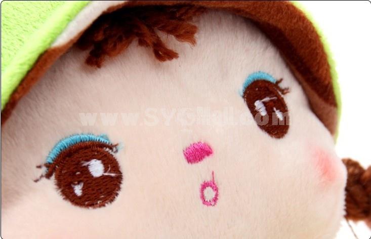 Cute Korean Angela Style High-top Thickened Warm Cotton Slipper