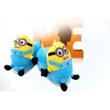 Wholesale - Hot Sale Multi-color Lovely Minions Style Cartoon High-top Thickened Warm Cotton Slipper