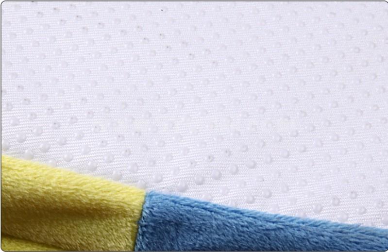 Cute Minions Style Cartoon High-top Cotton Slipper
