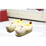 Wholesale - Lovely Cartoon Fruits Style High-top Cotton Slipper