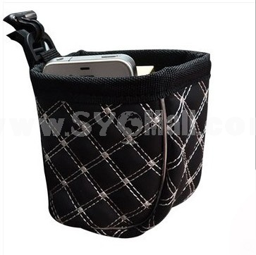 Car Accessories Convenient Practical PU Container