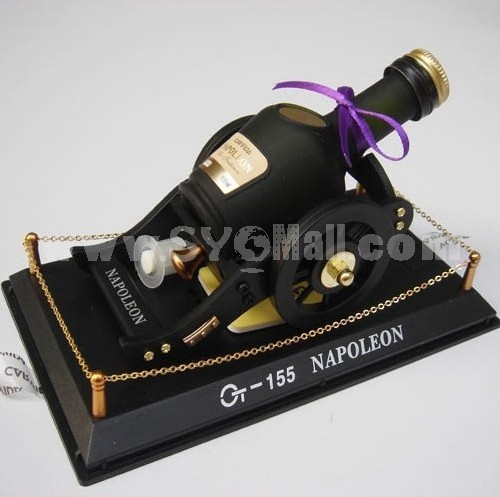 Car Accessories Décor Wine Pattern Perfume Bottle Artware