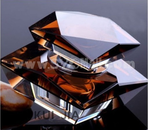 Car Accessories Décor Crystal Pattern Perfume Bottle Artware