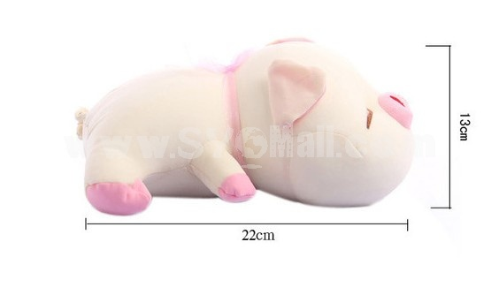 Cute Cartton Pig Pattern Decor Air Purge Auto Bamboo Charcoal Case Bag Car Accessories Plush Toy