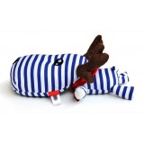 Wholesale - Sailor's Striped Puppy Bamboo Charcoal Air Purifier Cushion (for Car/Office/Home)