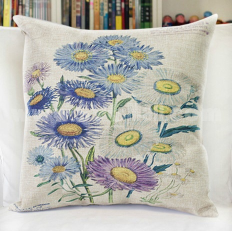 Decorative Printed Morden Stylish Flora Style Throw Pillow