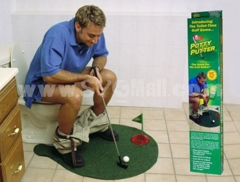 Creative Potty Putter Toilet Golf