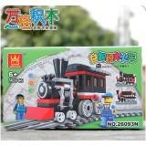 Wholesale - WANGE High Quality Building Blocks Small Bricks Train Series 90 Pcs LEGO Compatible