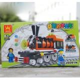 Wholesale - WANGE High Quality Building Blocks Train Series 99 Pcs