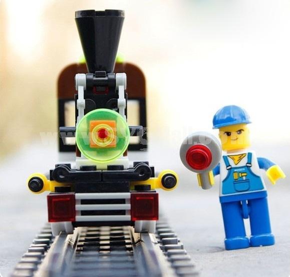 WANGE High Quality Blocks Train Series 99 Pcs 26091N 26092N 26094N