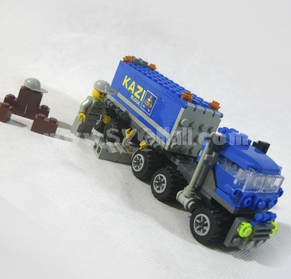 WANGE High Quality Blocks Plastic Engineering Series 163 Pcs LEGO Compatible 6409