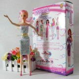 Wholesale - Cute & Novel DIY Barbie Doll with Extra Outfit