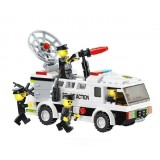 Wholesale - WANGE High Quality Building Blocks Police Series Police Car 155 Pcs LEGO Compatible