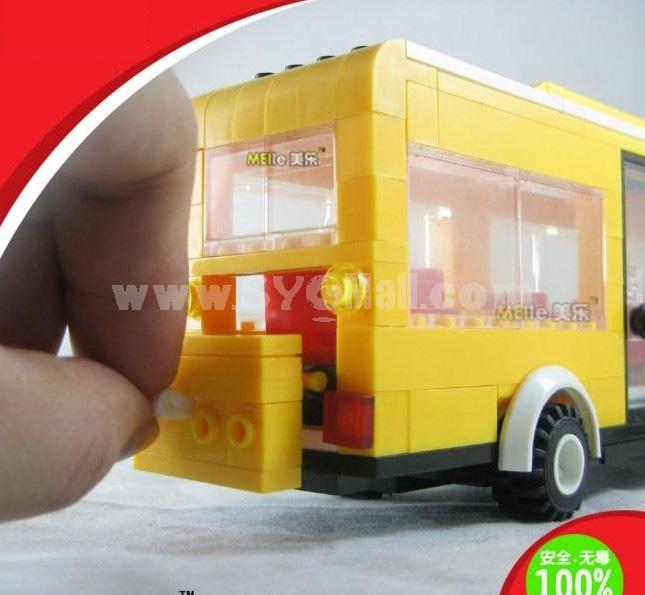 WANGE High Quality Blocks Urban Bus Series 289 Pcs LEGO Compatible 31031