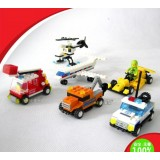 Wholesale - WANGE Mini High Quality Blocks Traffic Series 393 Pcs LEGO Compatible