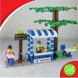 Wholesale - WANGE High Quality Building Blocks Business Street Series 191 Pcs LEGO Compatible