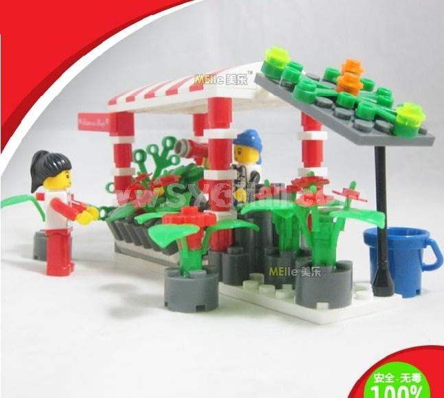 WANGE High Quality Plastic Blocks Small Bricks 145 Pcs LEGO Compatible 26144