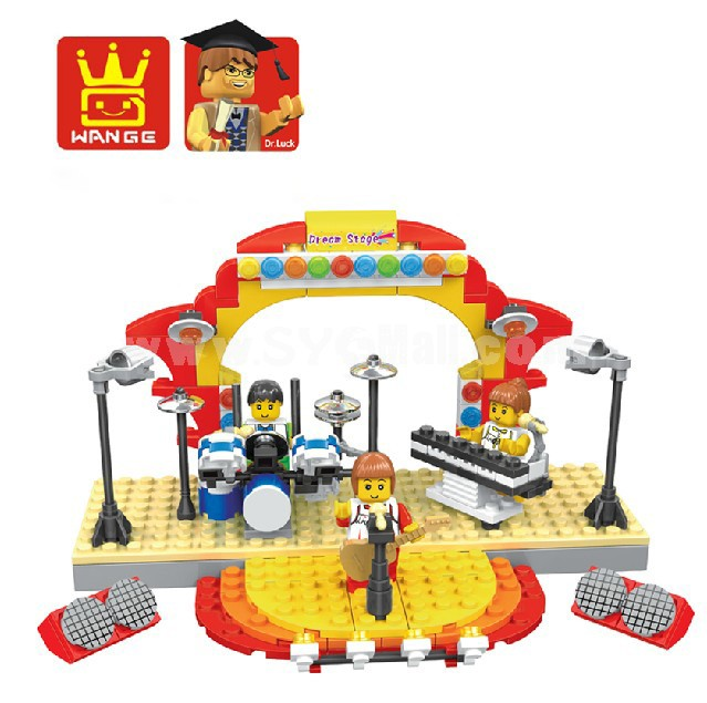 WANGE High Quality Plastic Blocks Situation Simulation Series 210 Pcs LEGO Compatible 46211N