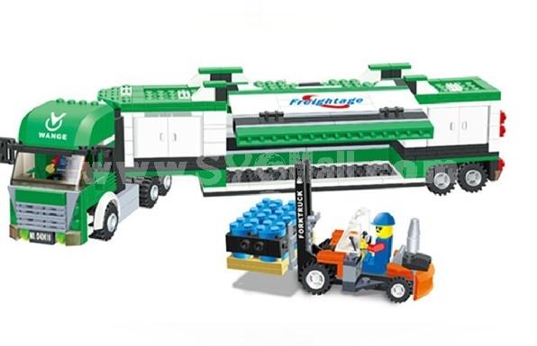 WANGE High Quality Plastic Blocks Truvk Series 463 Pcs LEGO Compatible 040616