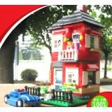 Wholesale - WANGE High Quality Villa Blocks Series 355 Pcs LEGO Compatible