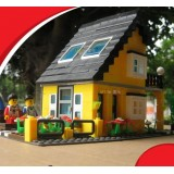 Wholesale - WANGE High Quality Villa Blocks Series 458 Pcs LEGO Compatible