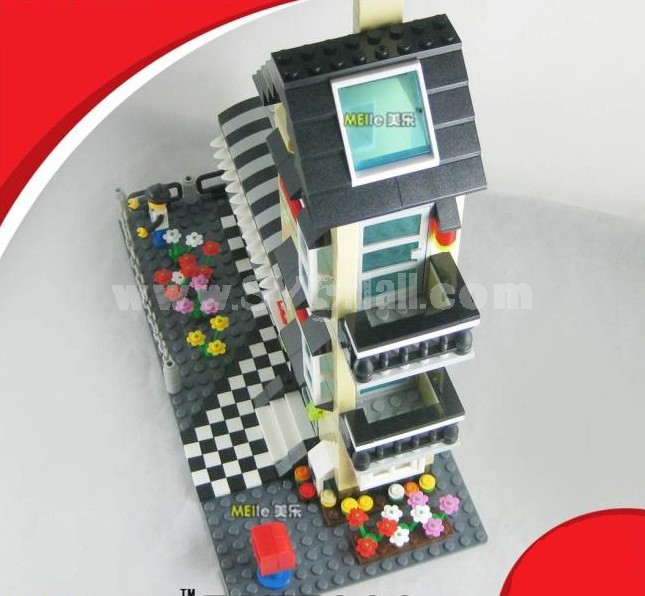 WANGE High Quality Plastic Blocks Villa Series 546 Pcs LEGO Compatible 31053