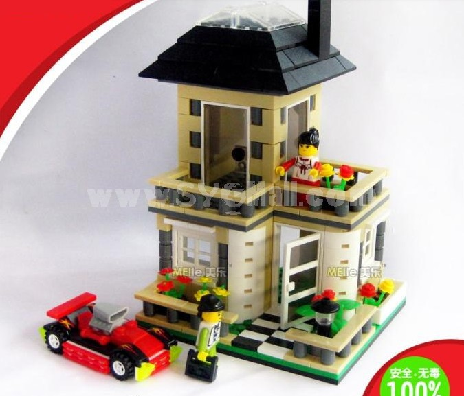 WANGE High Quality Plastic Blocks Villa Series 512 Pcs LEGO Compatible 31051