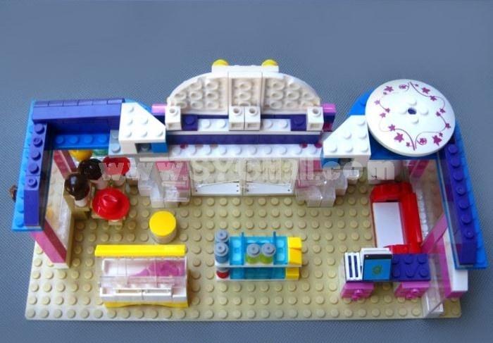 WANGE High Quality Plastic Blocks Clothing Store Series 258 Pcs LEGO Compatible 32213