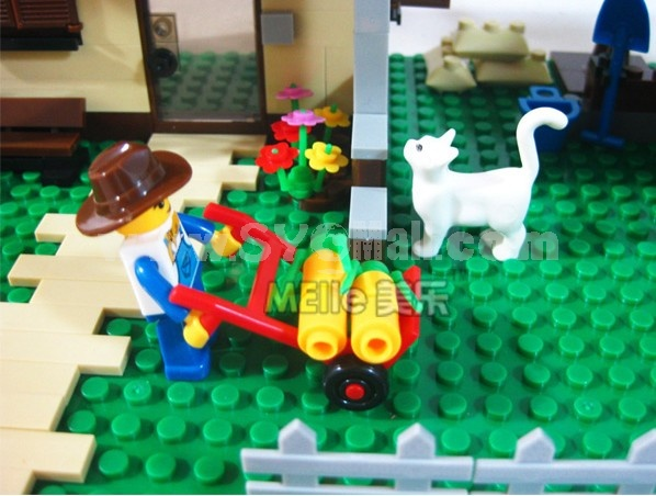 WANGE High Quality Plastic Blocks Farm Series 412 Pcs LEGO Compatible 33202