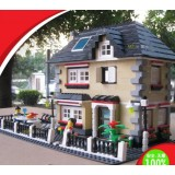 Wholesale - WANGE High Quality Villa Blocks Series 909 Pcs LEGO Compatible
