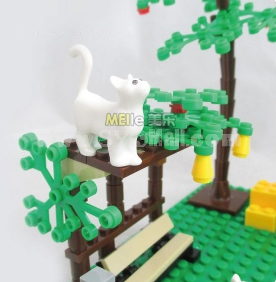 WANGE High Quality Plastic Blocks Farm Series 569 Pcs LEGO Compatible 34203N