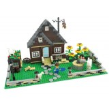Wholesale - WANGE High Quality Plastic Blocks Farm Series 719 Pcs LEGO Compatible