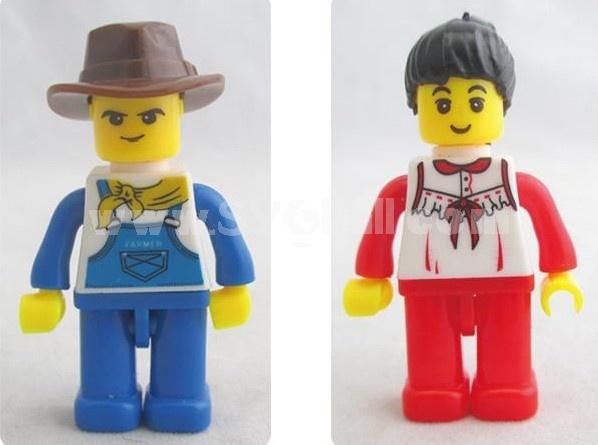 WANGE High Quality Plastic Blocks Farm Series 719 Pcs LEGO Compatible 34201