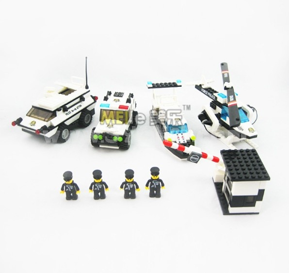 WANGE High Quality Plastic Blocks Police Series 568 Pcs LEGO Compatible 040228