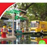 Wholesale - WANGE High Quality Plastic Blocks Bus Series 960 Pcs LEGO Compatible