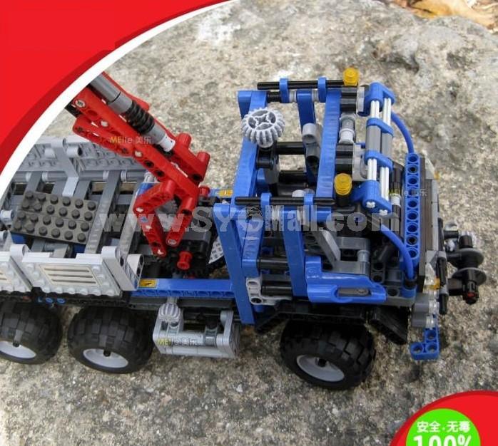 WANGE High Quality Plastic Blocks Truck Series 805 Pcs LEGO Compatible 3331