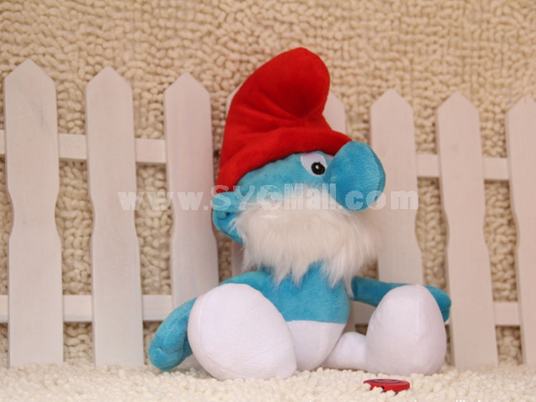 Cute The Smurfs Series Plush Toy 18cm/7in