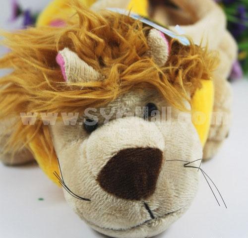 Creative Cute Lion Shape Plush Toy Coin Purse 24cm/9in