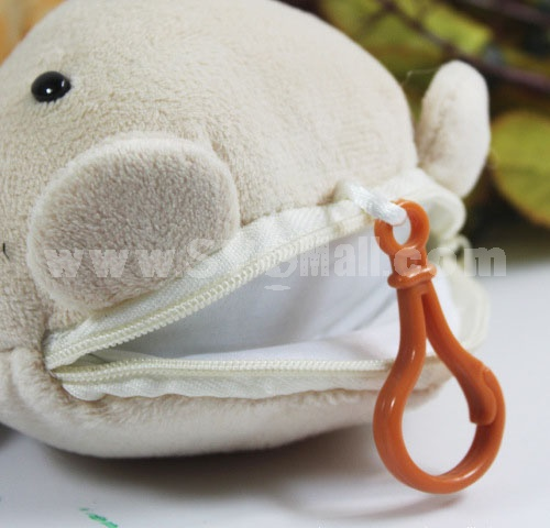 Diamond Bear Plush Toy Coin Purse 14cm/5in