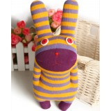 Wholesale - Striped Rabbit Plush Toy 28cm/11inch
