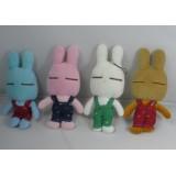 Wholesale - Little Pajama Rabbit 4PCs 15cm/5inch