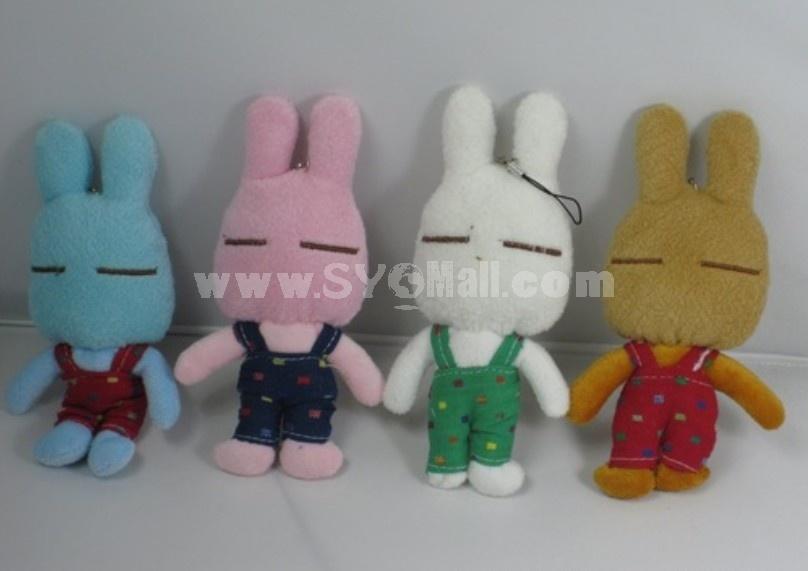 Cute Little Pajama Rabbit 4PCs 15cm/5in